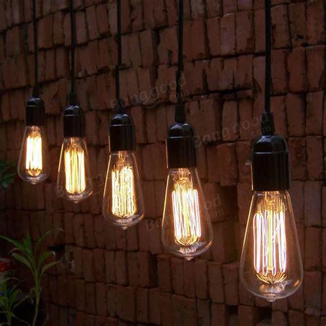 Beleuchtung Retro by 40w E27 St58 Edison Bulb Antique Filament L Retro