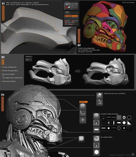 zbrush game tutorial 606 best 3d zbrush tutorial topology modeling