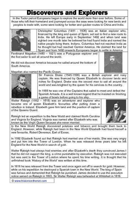 christopher columbus biography for 4th grade european explorers worksheets photos leafsea