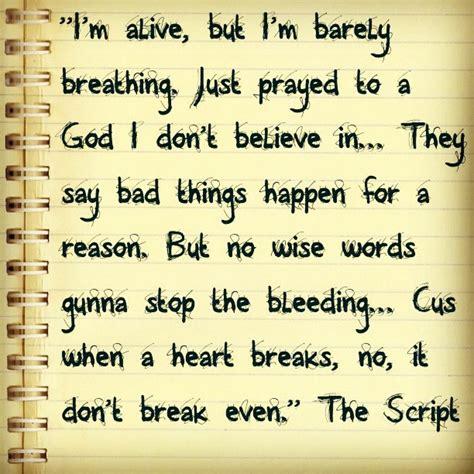 the script song break even the script lyrics pinterest