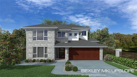 upslope house designs bexley mki upslope home design tullipan homes