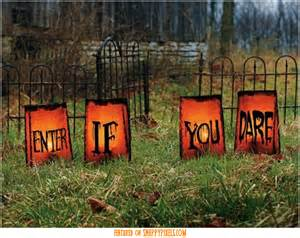 Decorations outside diy ideas halloween decorations to make for