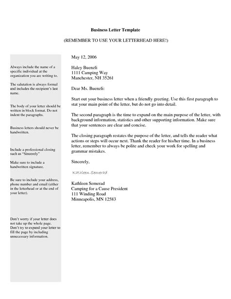 email format in spanish business letter in spanish the letter sle