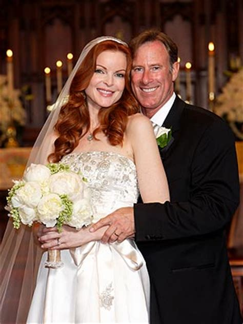 marcia cross tom mahoney wedding celebrity brides and their wedding dresses stylish