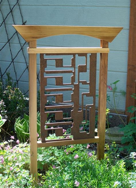 japanese trellis 17 best images about fencing ideas and design on