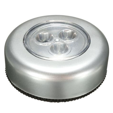 6pcs Stick And Click Led Push Lights Self Adhesive Battery Led Self Adhesive Lights