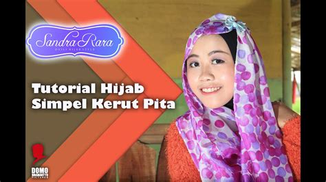 tutorial hijab simpel kerut pita youtube