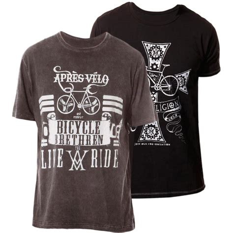 t shirts apres velo bicycle brethren and the true