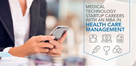 Careers In Mba Hospital Management by Technology Startup Careers With An Mba In Health