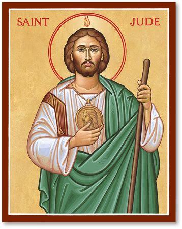 men saint icons saint jude the apostle icon monastery icons