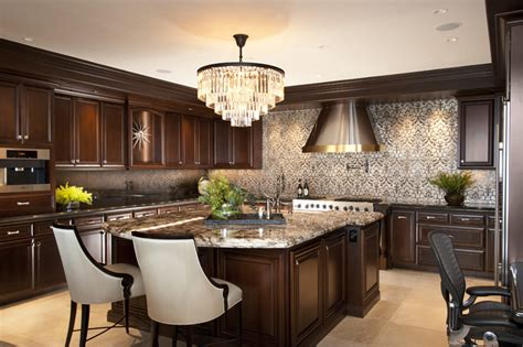 Fancy Kitchen Faucets la jolla luxury kitchen san diego interior designers