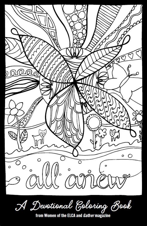 coloring book devotional elcawo1077 all anew devotional coloring book
