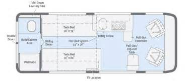 Class B Floor Plans Travato Floorplans Winnebago Rvs