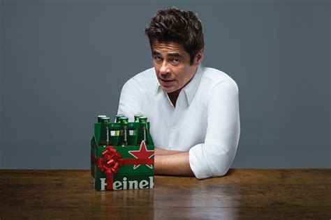heineken commercial hero actress benicio del toro is not antonio banderas in this new