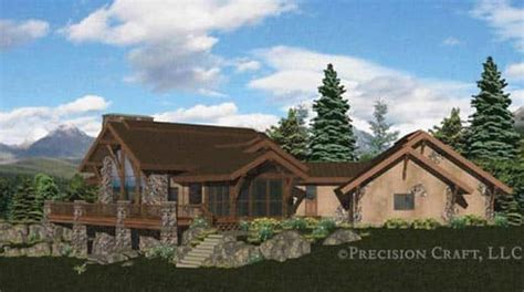 caribou log home floor plan by precision craft caribou handcrafted log home floor plan