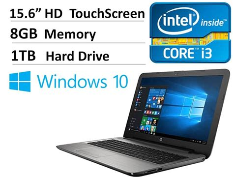 Paket Pc Skake I3 6100 Ram 8gb Hd 1000gb Vga Gtx1050ti Dual Fan new hp 15 6 quot touchscreen laptop intel i3 6100u 8gb ram 1tb hdd dvdrw hdmi