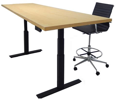 4 X 8 Conference Table Adjustable Electric Lift 8 X 4 Rectangular Conference Table Other Sizes Available