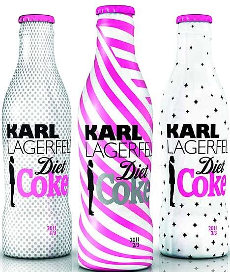 Roberto Cavalli Coke Bottle Designs by Karl Lagerfeld S Designs Second Collection Of Diet Coke