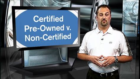 What Does Certified Preowned by What Does Certified Pre Owned Volkswagen Vs Non