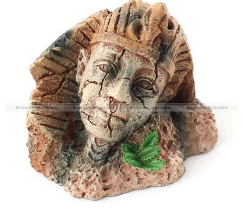 Egyptian Fish Tank Decorations Egyptian Pharaoh Ancient Sphinx Ruins Aquarium Ornament