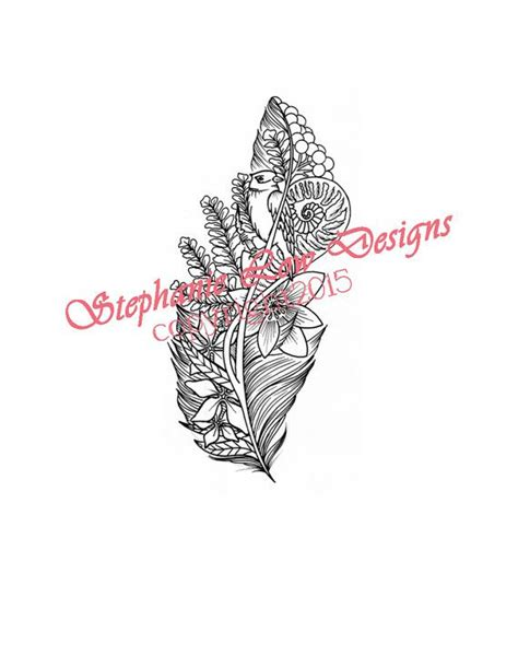 stephanie tattoo designs 1000 images about on feather tattoos