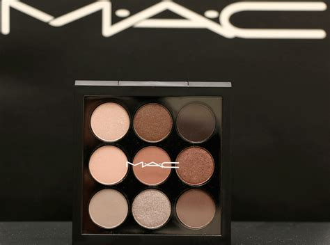 Eyeshadow X 9 mac macnificent me collection review pics and
