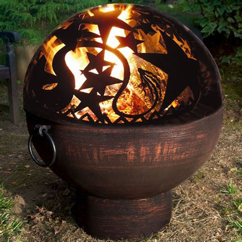 Firebowl Pit Outdoor Bowl In Pits