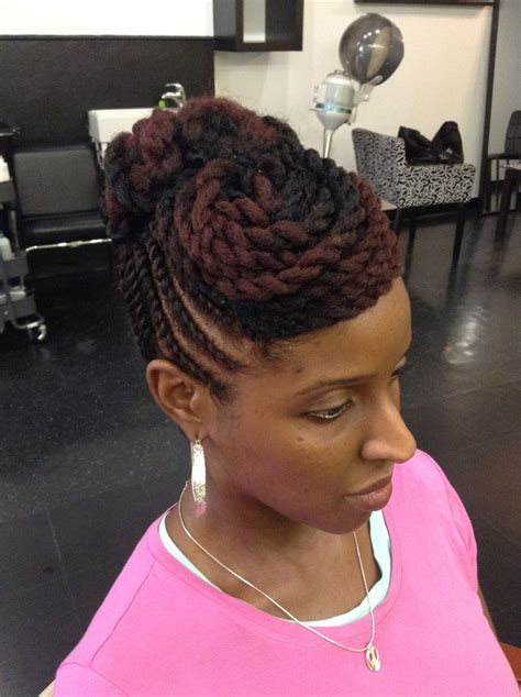 pictures and techniques for natral hair twisting for black woman twist hairstyles for natural hair twist braided styles
