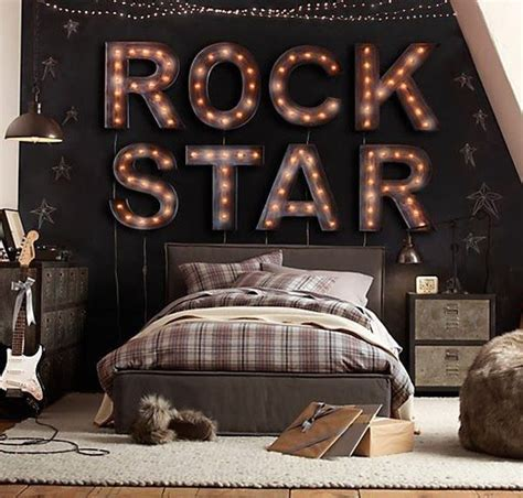 rock bedroom 10 teenage boys music bedrooms home design and interior