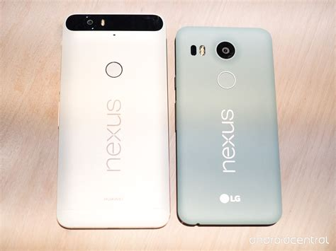 Android P Nexus 6p by Nexus 6p And Nexus 5x What S The Difference Android