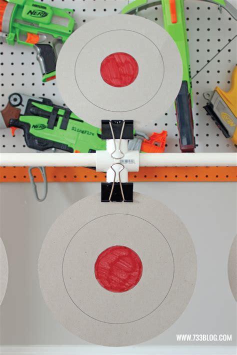 diy nerf spinning target seven thirty three