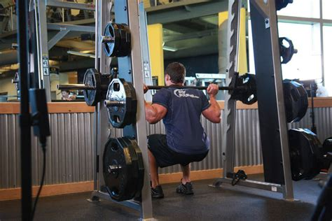 smith machine squat exercise guide and