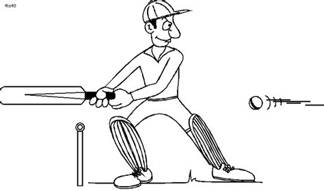free coloring pages of cricket bats cricket bat coloring coloring pages