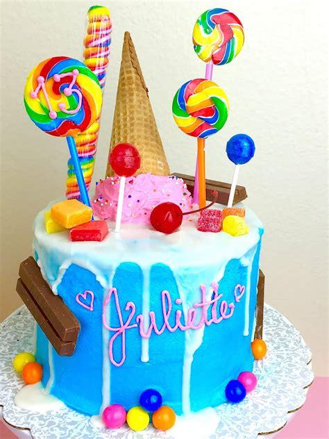 themes lollipop candy cake lindsay ann bakes