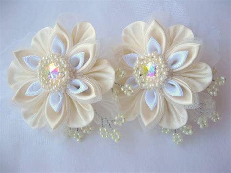 Bunga Pita Kanzashi Pipit Umayah 831 mejores im 225 genes de kanzashi flower en flor de cinta flores de cinta y flores