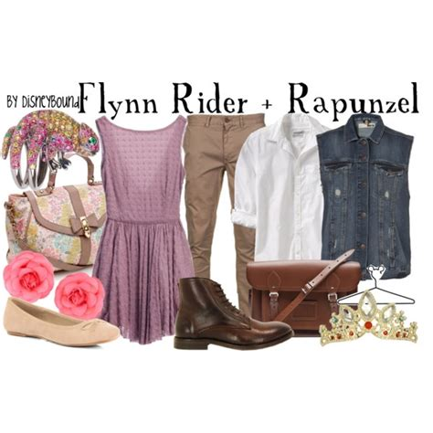 Rapunsel Vest flynn rider rapunzel created by lalakay on polyvore
