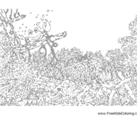 ocean floor 187 coloring pages 187 surfnetkids