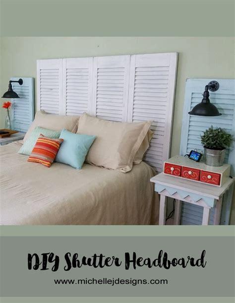 diy shutter headboard 1000 ideas about shutter headboards on pinterest beach