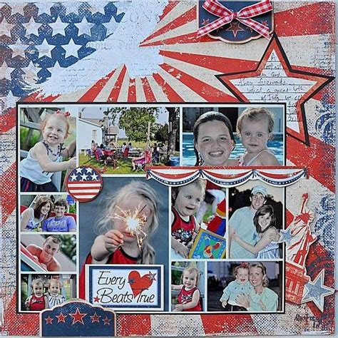 Multi Photo Scrapbook Layouts by Scrapbook Layout With Pictures Scrapbook Pages
