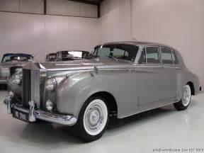 Rolls Royce Cloud 1960 Rolls Royce Silver Cloud Ii Information And Photos