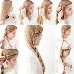gow to make longer haircut side braid hairstyle tutorial pictures photos and images