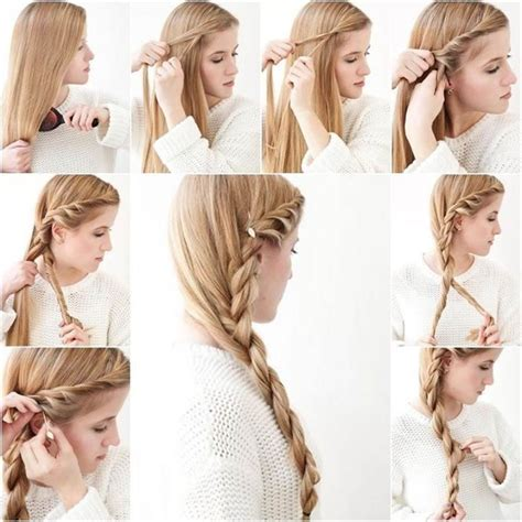 side braids step by step for kids side braid hairstyle tutorial pictures photos and images