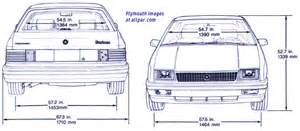 the p bodies dodge shadow plymouth duster and the