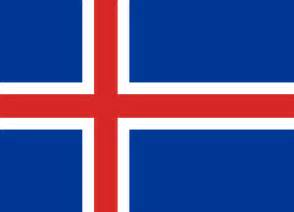 Above right the flag of iceland source