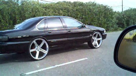Mamy Poko Open Standar S 24s 96 impala ss on 26 s iroc s in motion