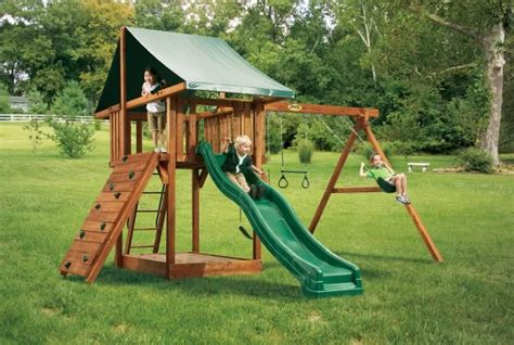 kids backyard play set escalade sports recalls oasis playsets due to fall hazard