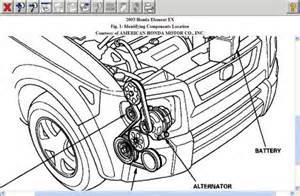 Honda Element Alternator 2003 Honda Element Alternator Engine Mechanical Problem