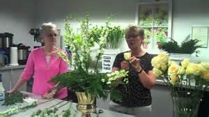 Tropical Flower Arrangements Altar Flower Arrangement Step Two Youtube