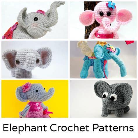 amigurumi elephant crochet elephant 12 amigurumi patterns to stitch