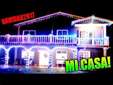 especial navidad! decoramos mi casa con miles de luces